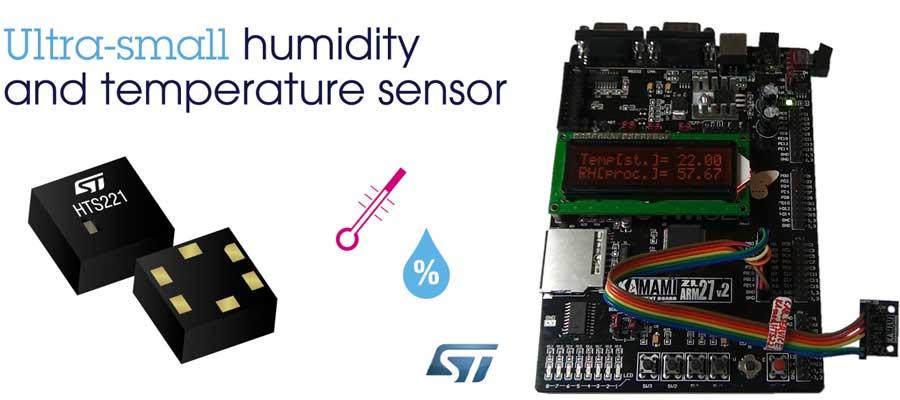 HTS221 - czujnik temperatury i wilgotności powietrza