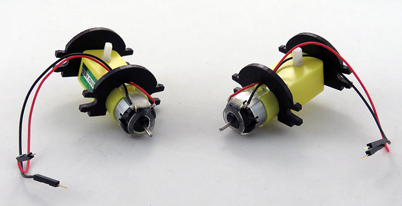 RedBot Basic Kit - silniki gotowe do montażu