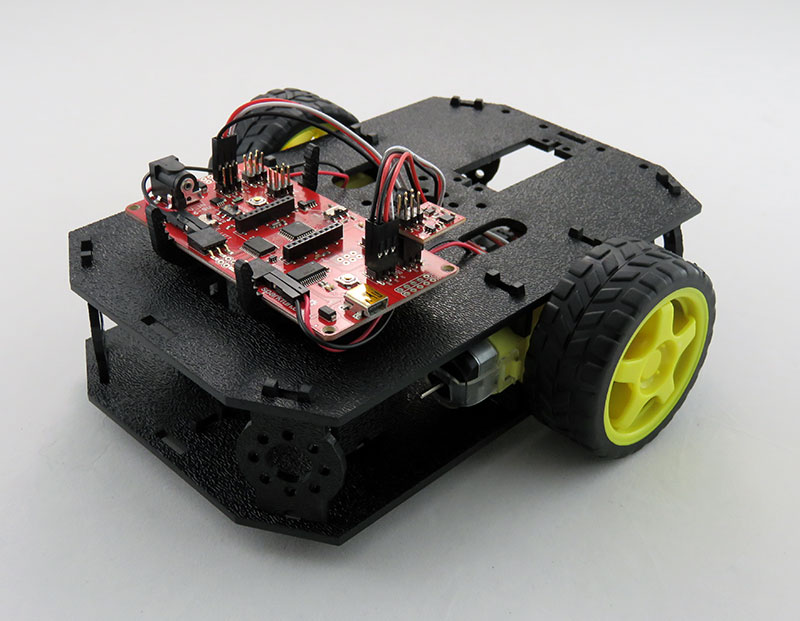 RedBot Basic Kit - montaż kontrolera