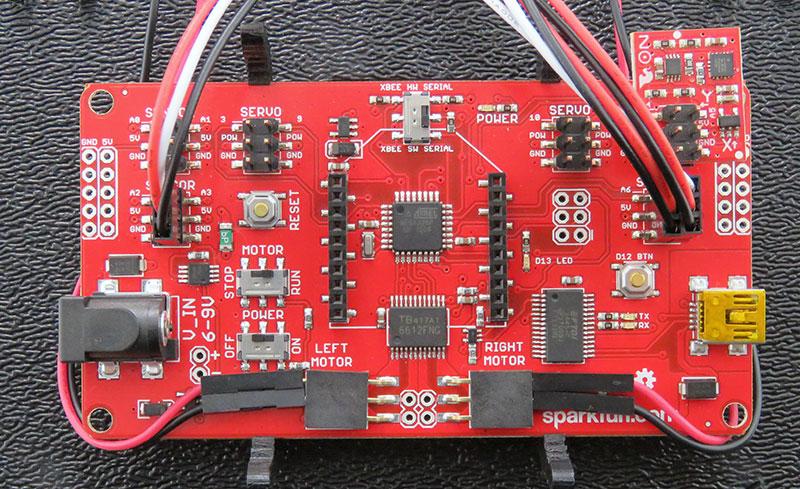 RedBot Basic Kit - sposób połączenia
